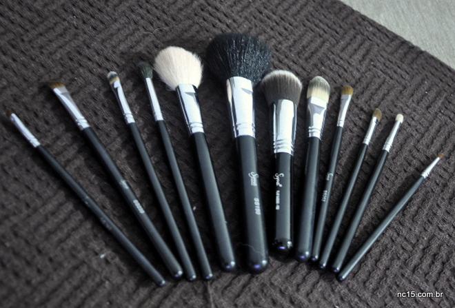 O meu Essential Kit de 12 pincéis de maquiagem da Sigma Beauty