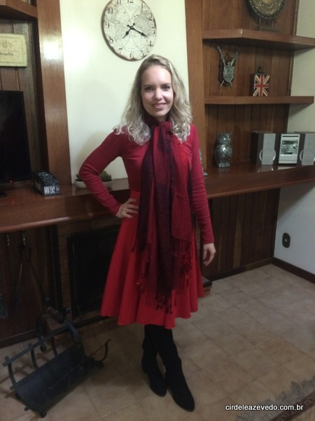 Meu look Lady In Red
