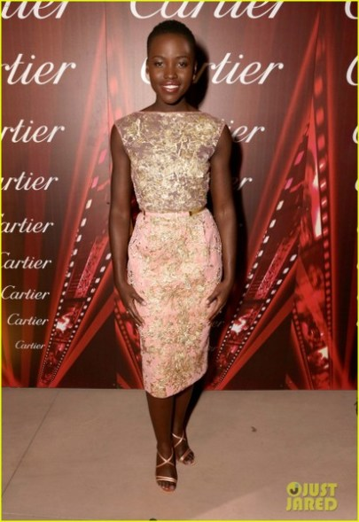 PALM SPRINGS, CA - JANUARY 04: Actress Lupita Nyong'o arrives at the 25th annual Palm Springs International Film Festival awards gala at Palm Springs Convention Center on January 4, 2014 in Palm Springs, California. (Photo by Jeff Vespa/Getty Images for PSFF)