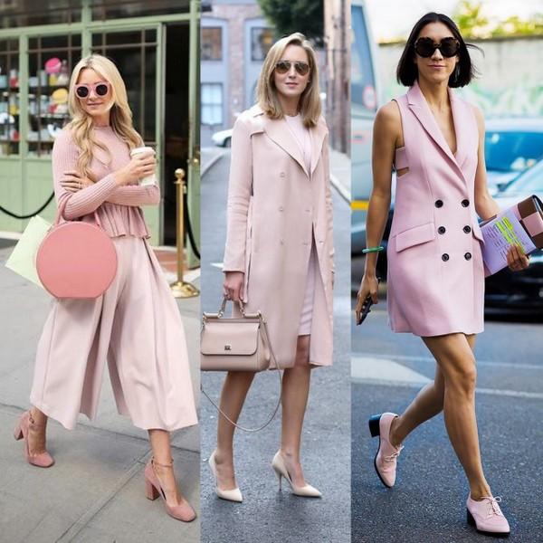 Looks todo cor de rosa