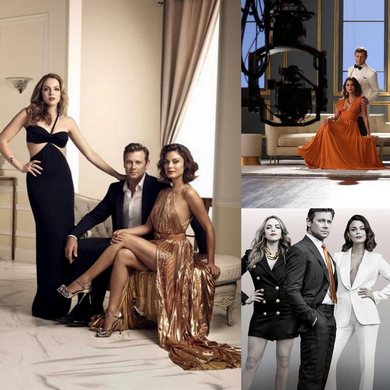 Imagens promocionais da Série Dynasty