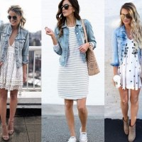 15 inspirações para usar a jaqueta jeans já