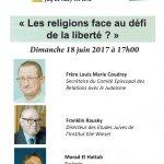 Les religions face au défi de la liberté ?