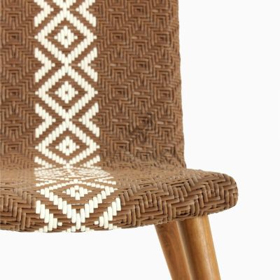 Neysa Wicker Rattan Chair detail 1