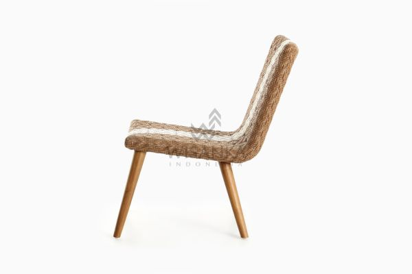 Neysa Wicker Rattan Chair side