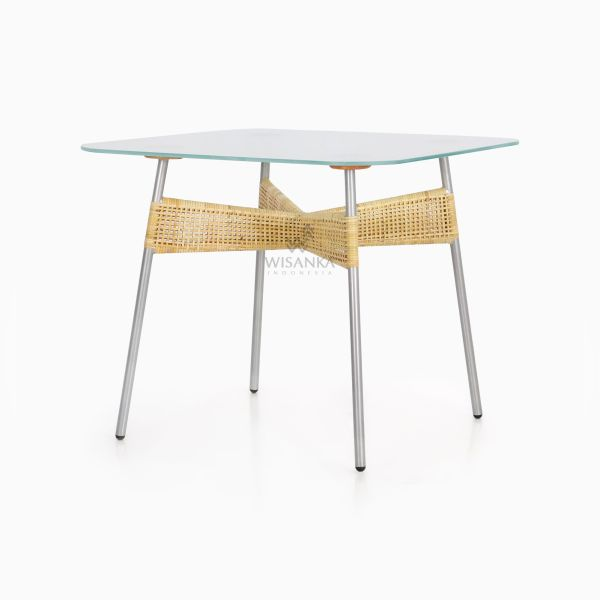 Kaira Dining Table - Natural Rattan Furniture