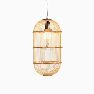 Oriental Hanging Lamp - Natural - Lampion Lamp