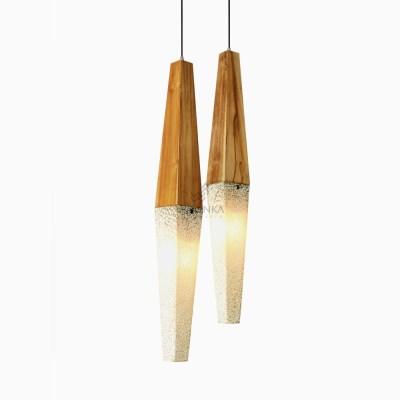Piramid Hanging Lamp - White Pendant Lights