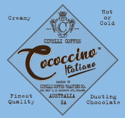 Cococcino Italiano Dusting & Drinking Chocolate