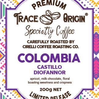 Colombia Castillo Diofannor Specialty Coffee