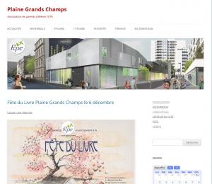 Site FCPE Plaine Grands Champs