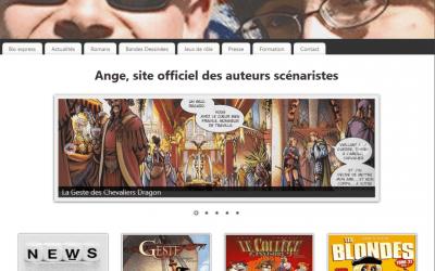 Site d'Ange, auteurs scénaristes