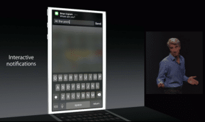 Conférence Apple WWDC 2014 : les nouveautés d'iOS8 2