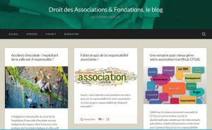 Blog Droit des Associations et Fondations - Camino Avocat