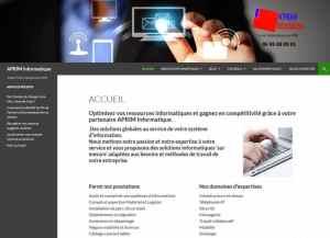 Aprim Informatique site web