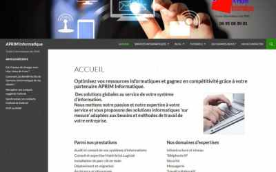Conseil et formation digitale d'APRIM Informatique
