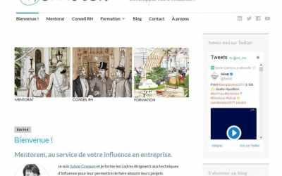 Création du site web de Mentorem