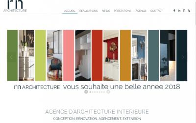 Stratégie digitale, reportages et articles pour RN Architecture
