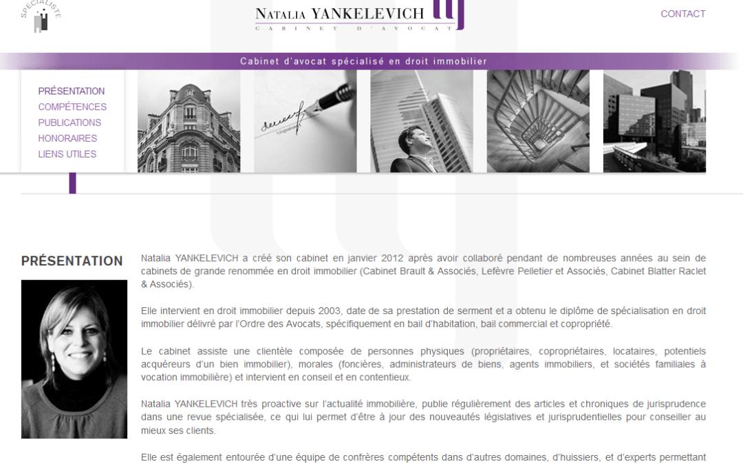 Formation Linkedin de Natalia Yankelevich avocate