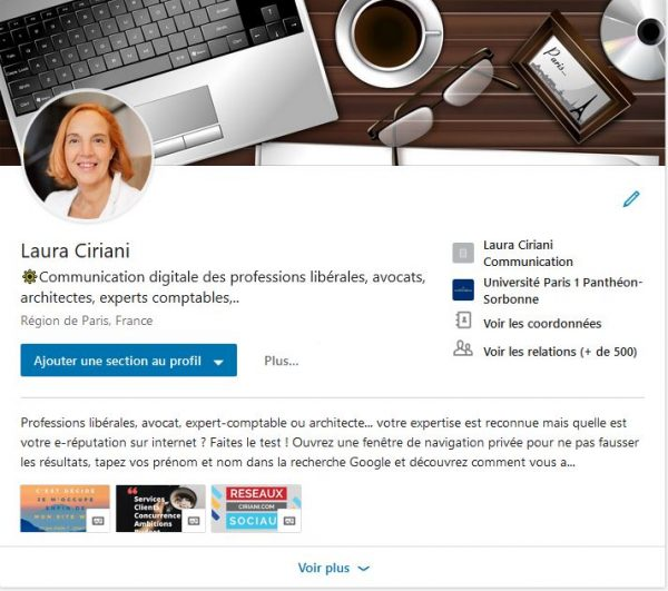 profil Linkedin : optimisation