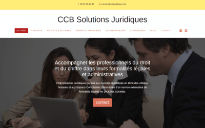 Marketing digital de Carole Caillet – CCB Solutions Juridiques