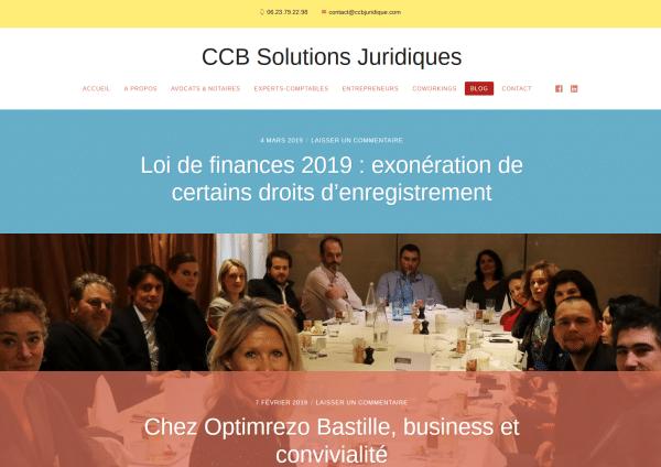 Blog de CCB Solutions Juridiques