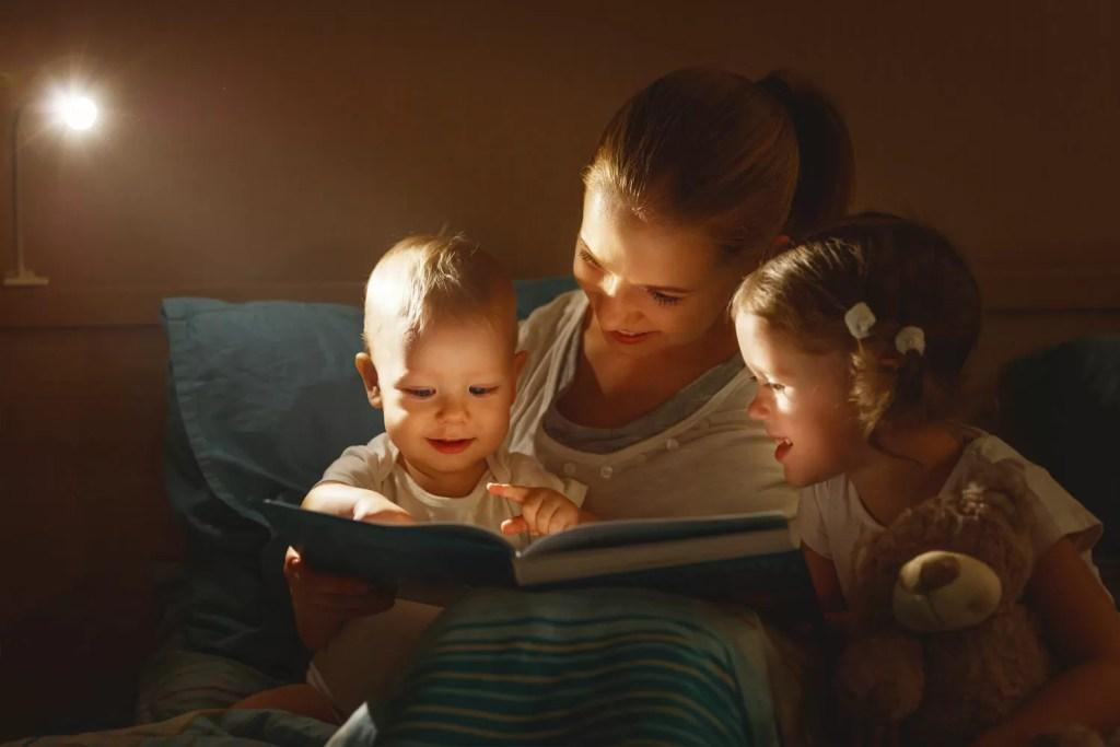 leggere una favola prima di dormire