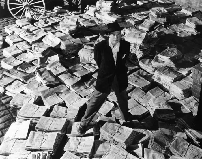 Citizen Kane - sui giornali