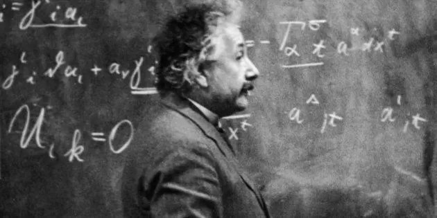 Albert Einstein insegnante