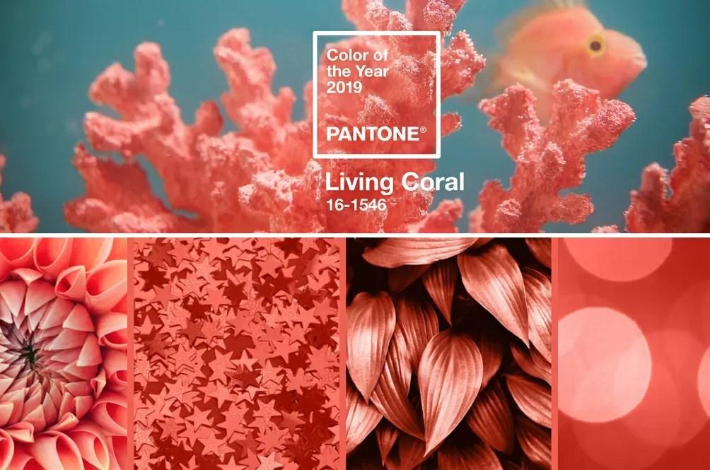 colori pantone living coral