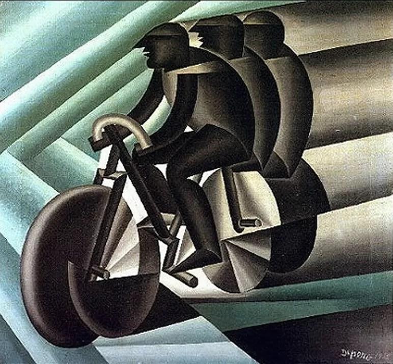 Depero e il ciclismo