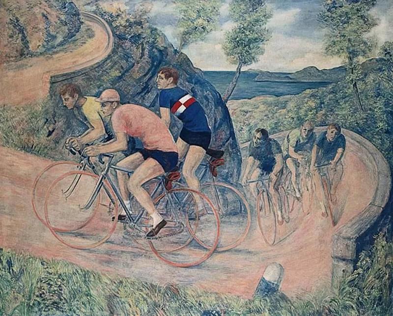 La bicicletta Sassu