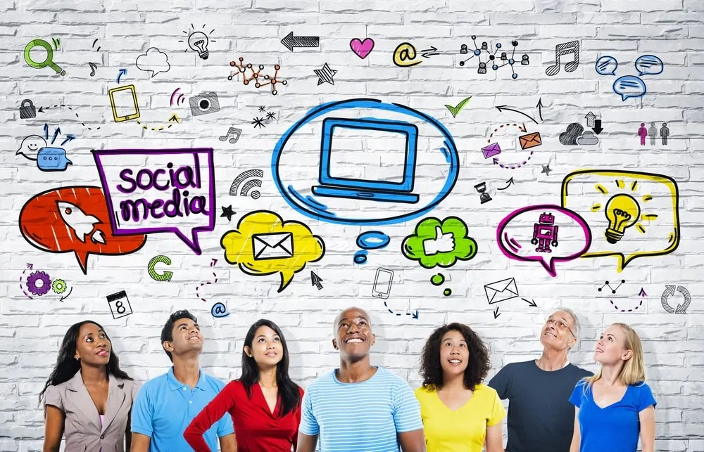 condividere sui social