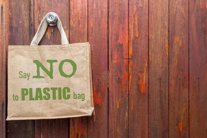 dici no ai sacchetti di plastica