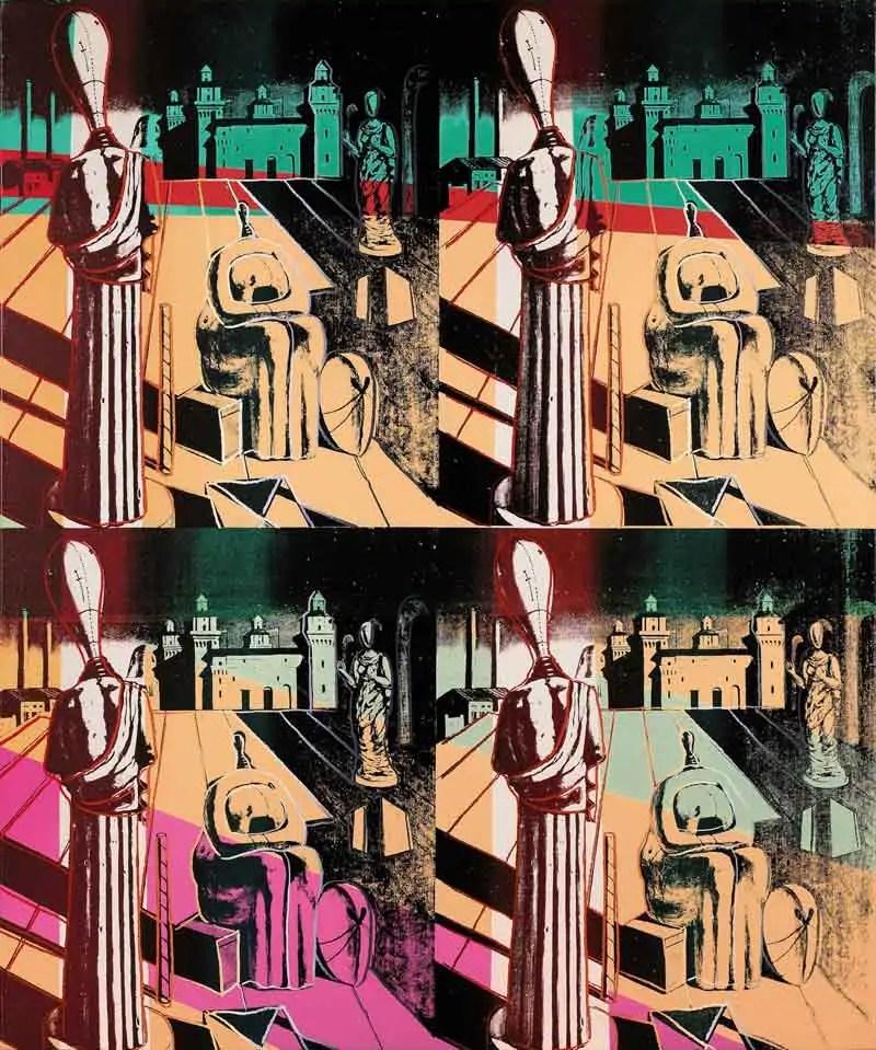 De Chirico - Warhol
