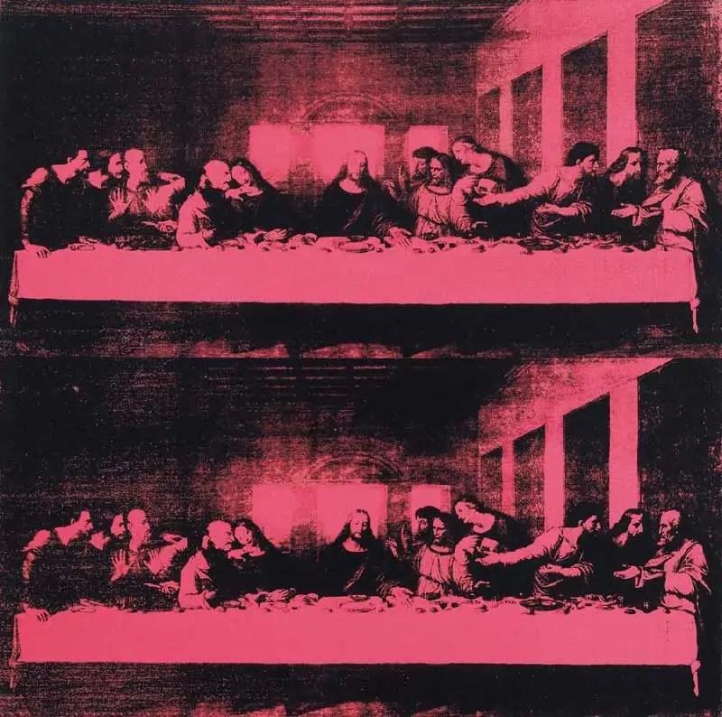 soggetti artistici di Andy Warhol, The last supper