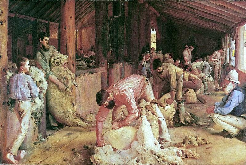 Australia-Shearing