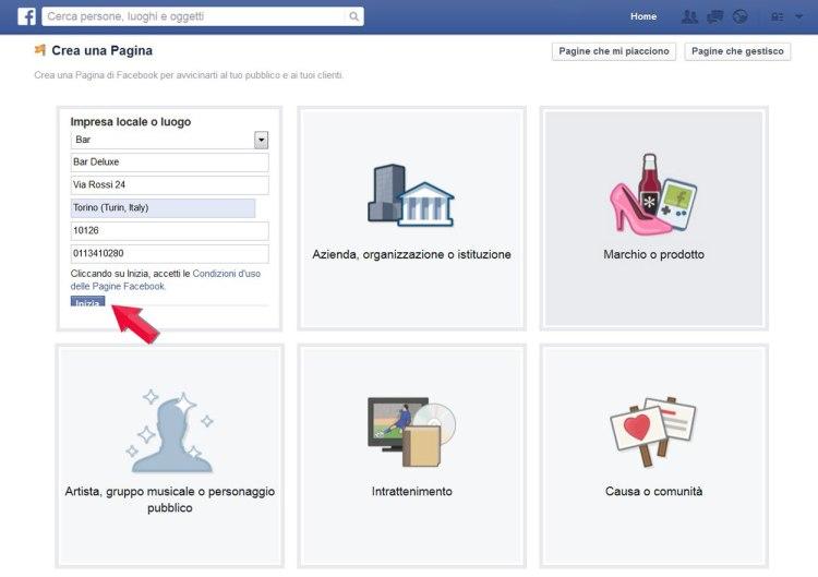 Come creare una pagina facebook aziendale di successo