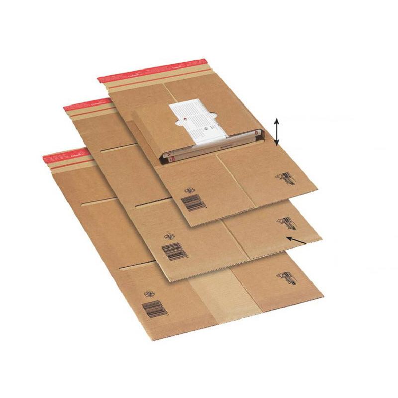 Boekverpakking 250 x 190 x 85 mm