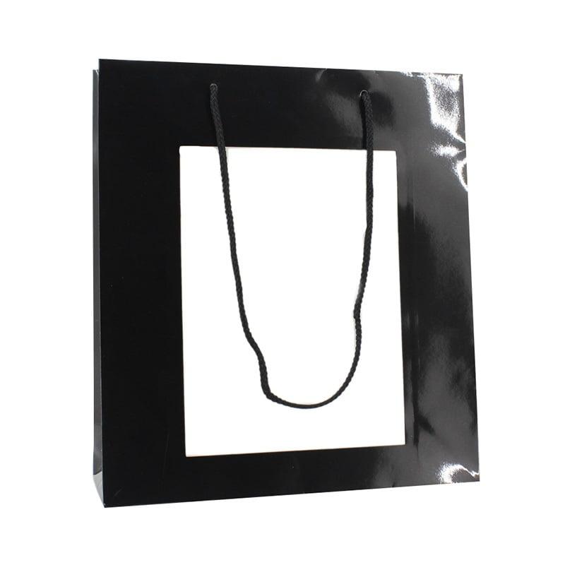 Papieren Venstertas A4 - Zwart