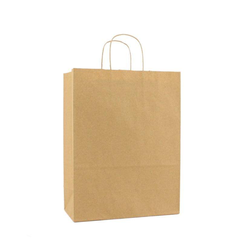 Basic Papieren Tas - Bruin