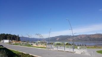 Parque Ribera cuenta con moderna tecnología LED de ahorro energético
