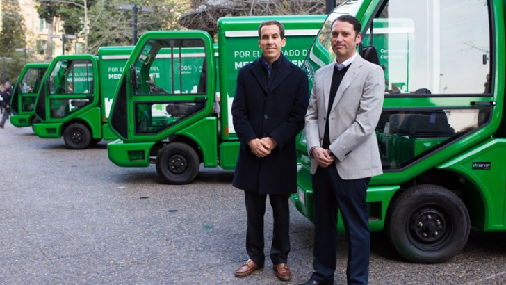 CCU presenta flota de camiones eléctricos como parte de su nuevo modelo de distribución