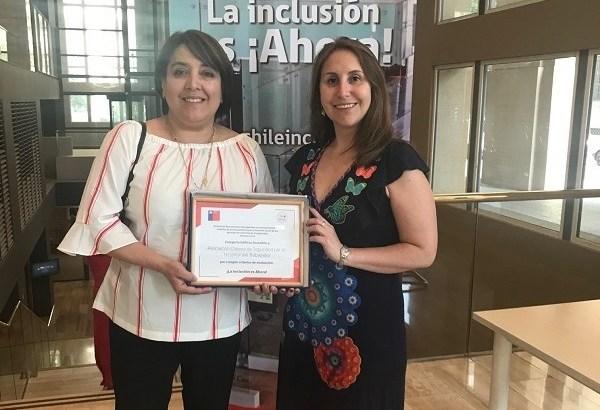 La ACHS recibió Sello Chile Inclusivo 2018 en la categoría de Edificio Accesible del Hospital del Trabajador