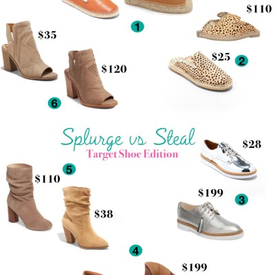 Splurge vs Steal – Target Shoe Edition