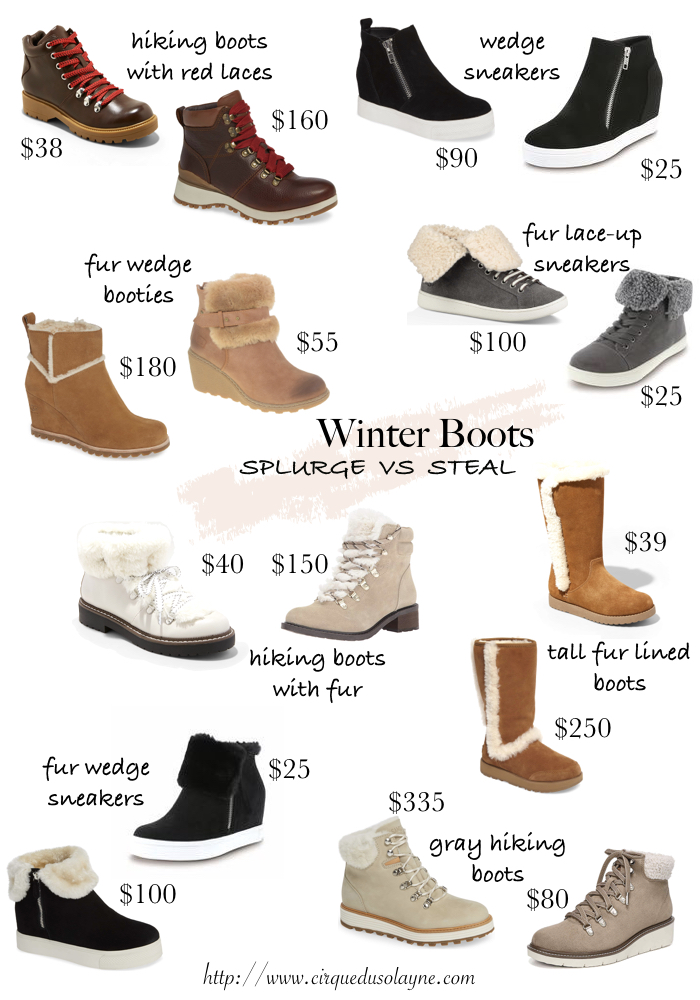 34db28748a0 Splurge vs Steal: Winter Boots - Cirque du SoLayne