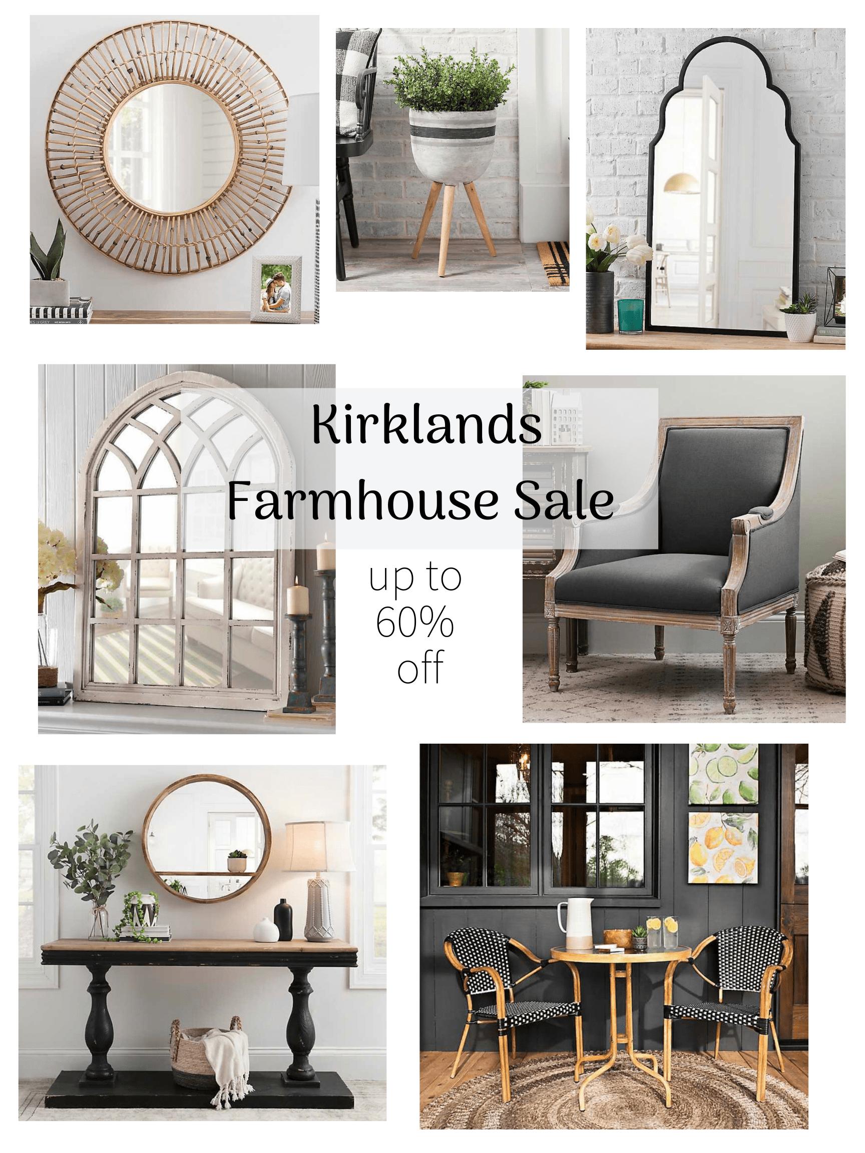 Kirklands Farmhouse Sale - Cirque du SoLayne on Kirkland's Decor Home Accents id=76442