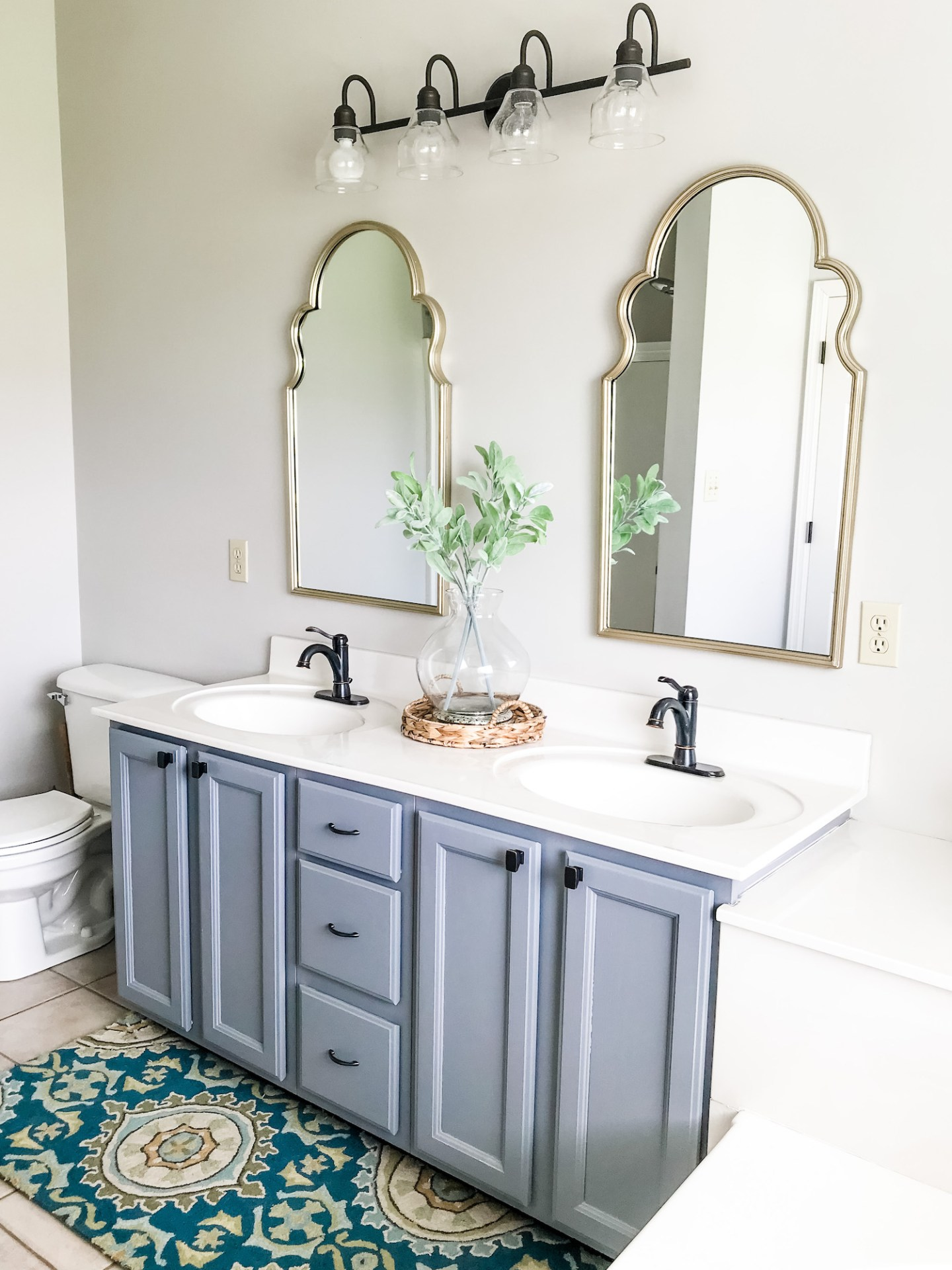 Our Master Bathroom Vanity Makeover Cirque Du Solayne