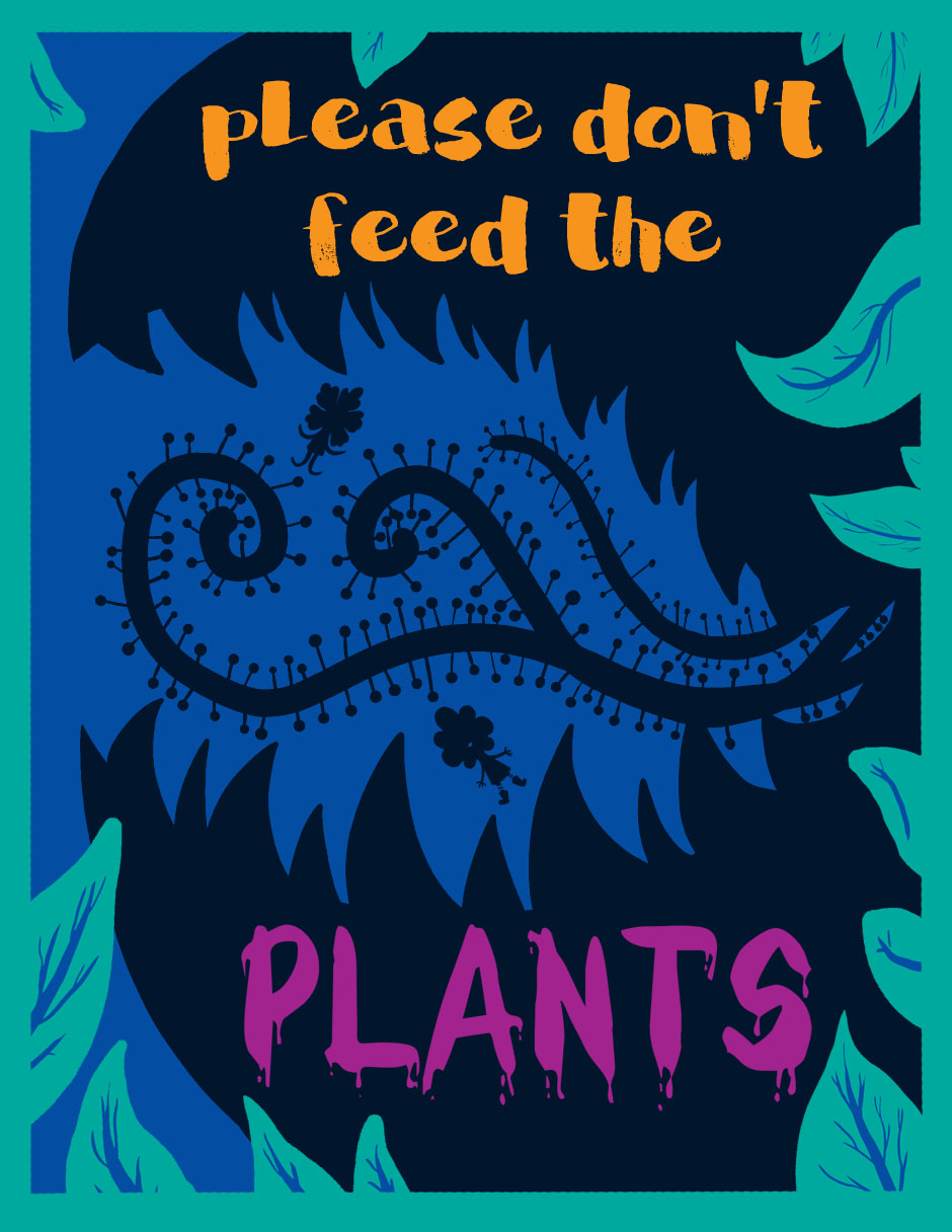 Please Don't Feed the Plants Cover