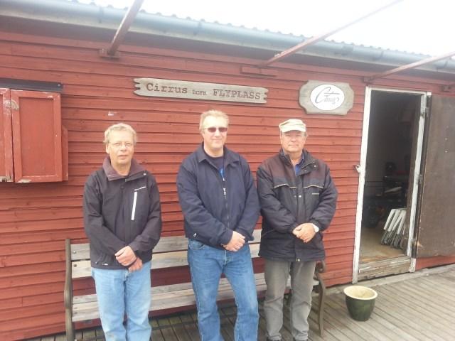 Arnfinn, Morten og Alf Erik